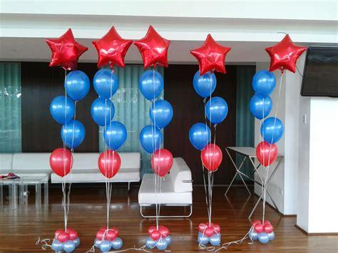 Decoración con globos de helio   Imagui