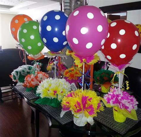 Decoración con globos para fiestas infantiles   Comida ...
