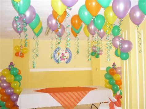 Decoración con globos para fiestas infantiles Madrid ...