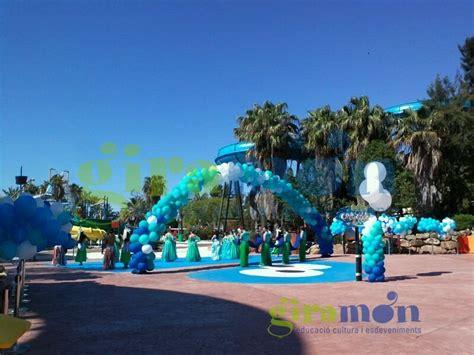 Decoracion con globos para inauguración Costa Caribe Port ...