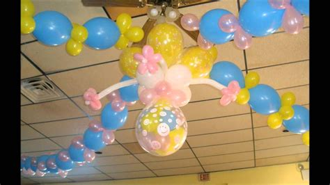 Decoracion con globos - YouTube