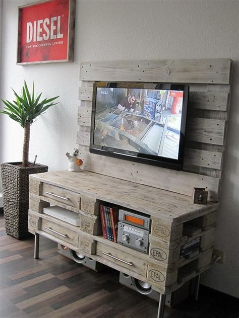Decoración con palets de madera. Muebles con tarimas.