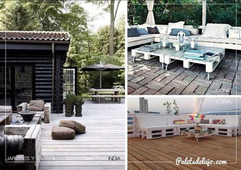 Decoración con palets de madera para jardín, ¡las mejores ...