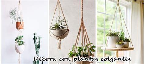 Decoración con plantas colgantes | Decoracion de ...