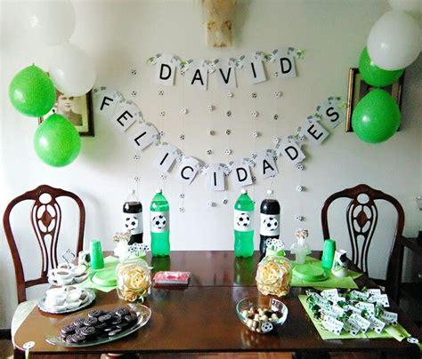 Decoración Cumpleaños fútbol   Fiestas peques   Pinterest ...