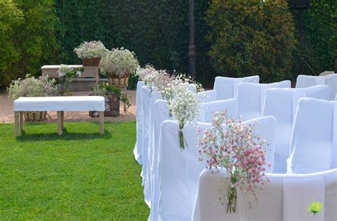 Decoración de bodas con flores - Blumenaria