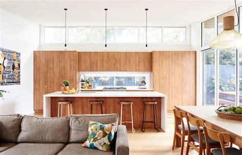 Decoración de casas: Casa de diseño mid century con ...