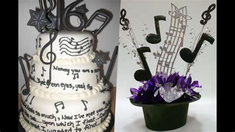 Decoración de fiesta con notas musicales. - YouTube
