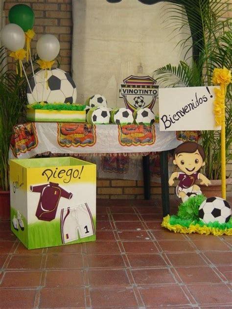 DECORACION DE FIESTA MOTIVO FÚTBOL.   Fiestas Infantiles ...