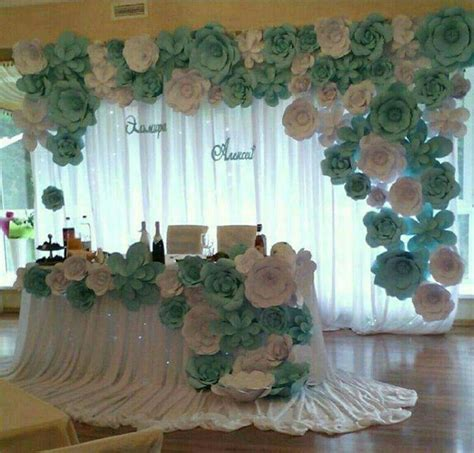 Decoración de flores Mesa para 15 añera Mesa para novios ...