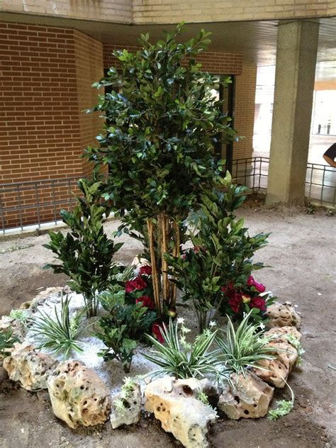 Decoración de interiores con plantas para eventos y hosteleria