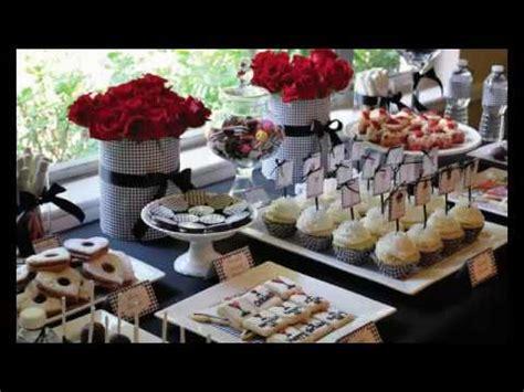 Decoracion De Mesas Para Cumpleaños Adultos - YouTube