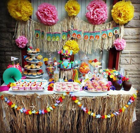 Decoración de Moana para tu cumpleaños Feliz ...