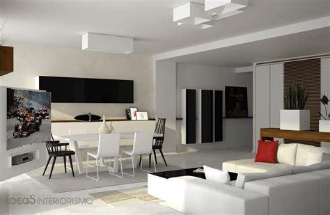 Decoración de salón comedor y pasillo.   Estudio ...