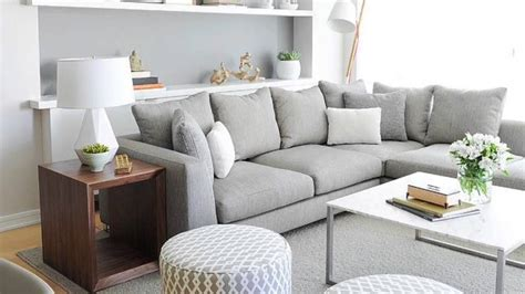 Decoracion de salones gris y blanco - YouTube