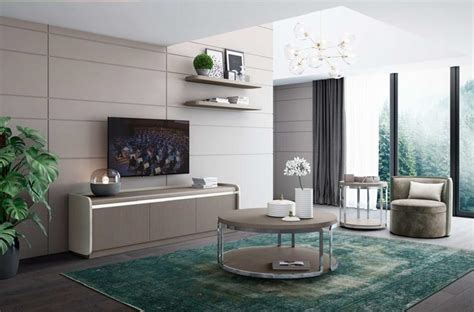 Decoración de salones modernos. Tienda de muebles en ...