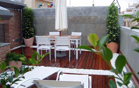 Decoración de terrazas y patios. Diseño y paisajismo para ...