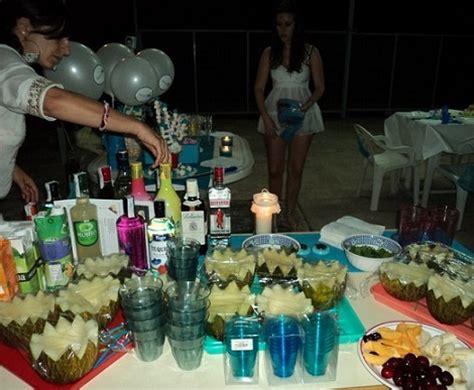 Decoración de una fiesta ibicenca
