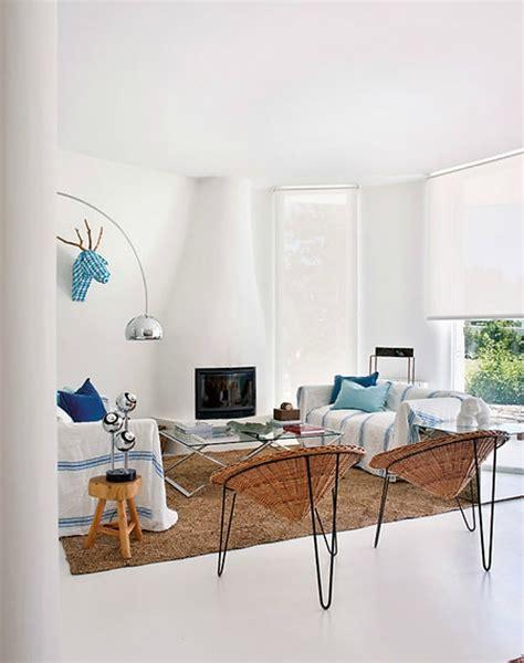 Decoración Fácil: Una casa de estilo mediterráneo elegante ...
