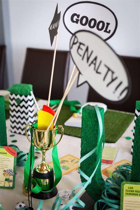 decoracion fiesta infantil futbol exquisitae | Cumple ...