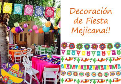 DECORACION FIESTA MEXICANA Y ELEMENTOS DIVERTIDOS!!!!