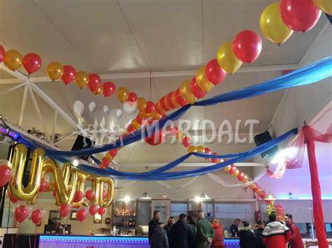 decoracion-globos-oro-rojo