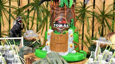 Decoracion infantil cumpleaños tematica dinosaurios - YouTube