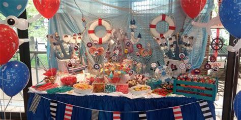 Decoración marinera para comuniones