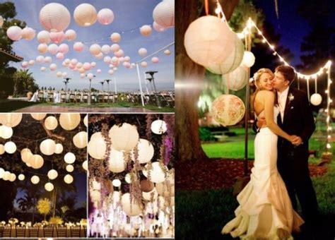 Decoración para bodas al aire libre en jardin de noche ...