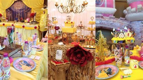 Decoración para fiesta temática de la Bella y la Bestia ...