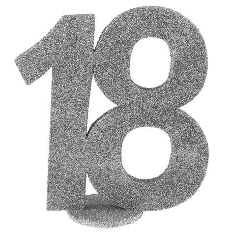 Decoración para Tarta 18 años plata 10 cm | My Karamelli