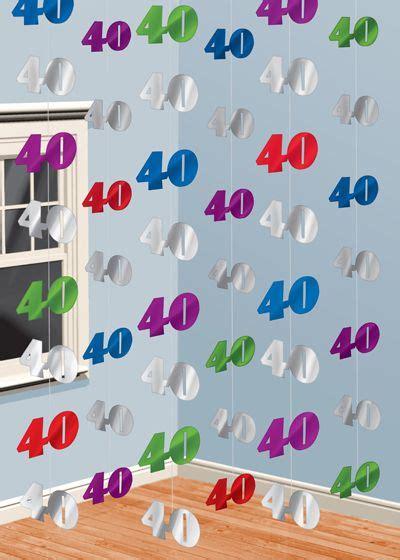 decoración para una fiesta del 40º cumpleaños | CASTELLANO ...