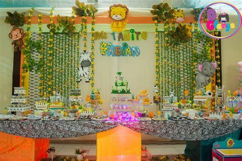 Decoracion Safari Bebe Para Fiestas