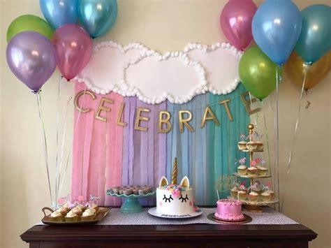 Decoración sencilla de fiesta . | Cumpleaños | Pinterest ...