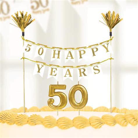 Decoración Tarta 50 cumpleaños. Aire de Fiesta