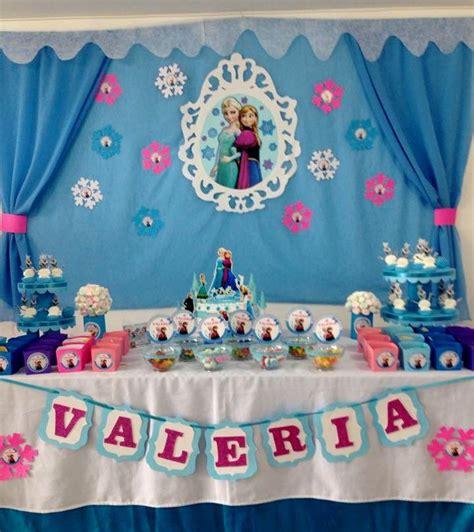 Decoracion Vintage Para Fiestas Infantiles Frozen