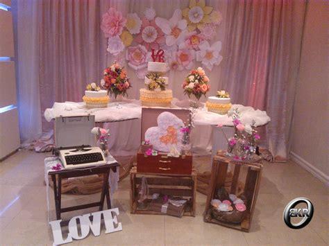 Decoración vintage para una boda | Mis Decoraciones para ...