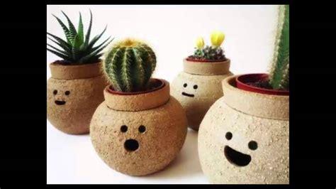 Decoraciones de Macetas Para Plantas Faciles de hacer ...