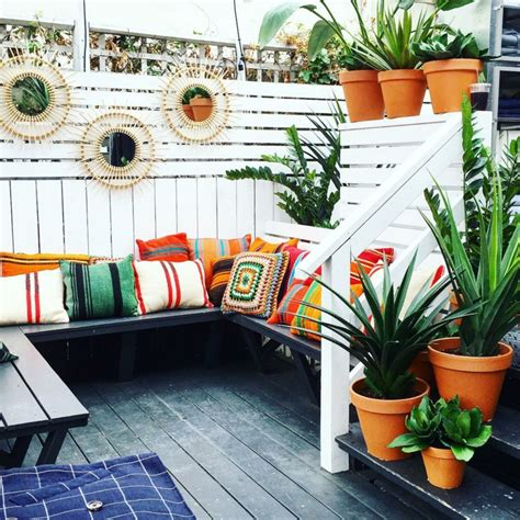 Decorar balcon pequeño chill out 50 ideas creativas