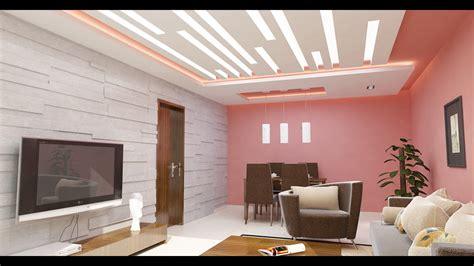 decoration salon faux plafond - YouTube