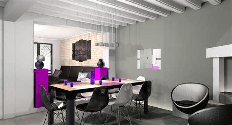 Décoration salon salle a manger appartement - Exemples d ...