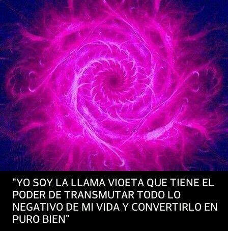 #Decreto:Yo soy la llama violeta que tiene el poder de ...