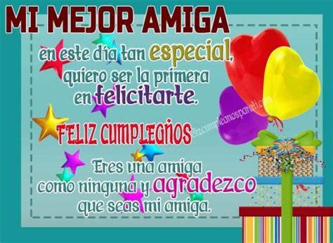 Dedicatoria Feliz Cumpleaños Para Mi Mejor Amiga ...