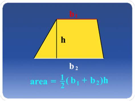 Definición: área de un trapezoide