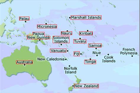 Definición de Oceanía » Concepto en Definición ABC
