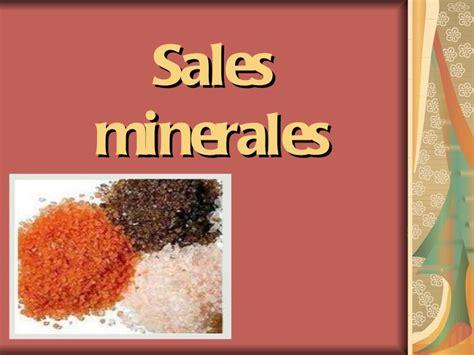 Definición de Sales minerales » Concepto en Definición ABC