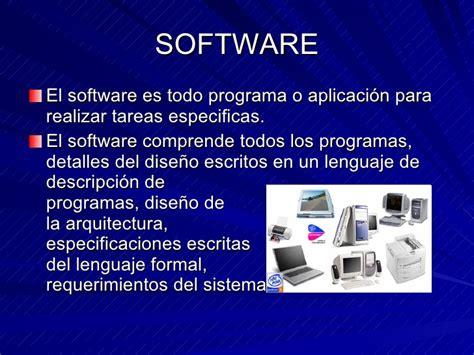 Definicion Hardware Y Software