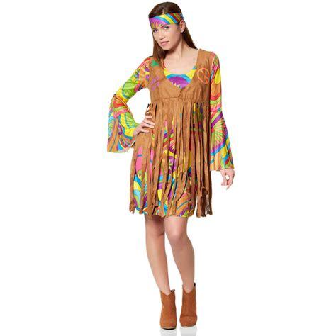 Déguisement de hippie Femme   multicolore   Kiabi   26,00€