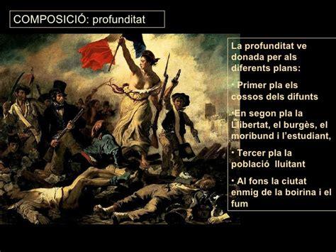 Delacroix LA LLIBERTAT GUIANT EL POBLE