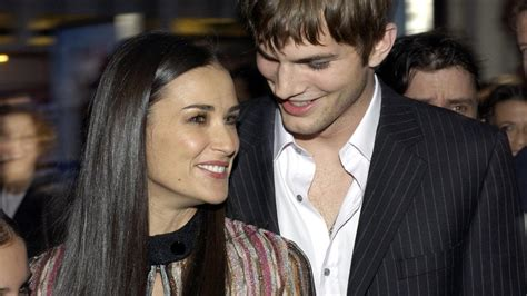 Demi Moore and Ashton Kutcher Both Spotted at Same Rio ...